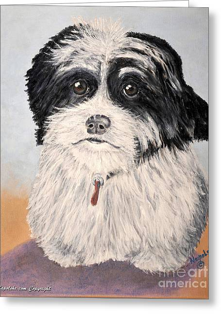 The Millie Greeting Card by Barney Napolske