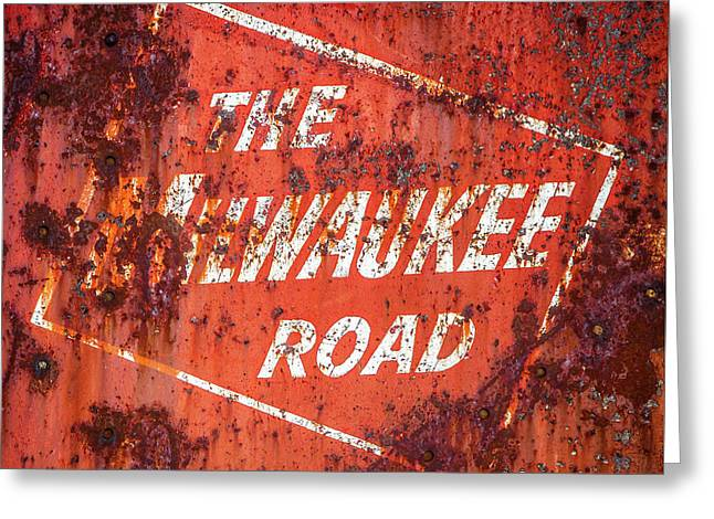 The Milwaukee Road Greeting Card by Todd Klassy