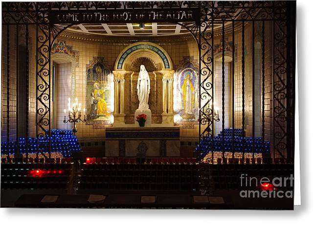The Miraculous Medal Shrine Greeting Card