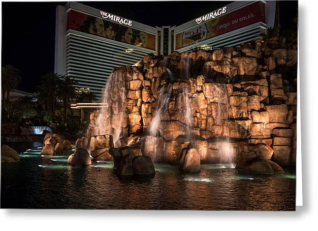 Greeting Card featuring the photograph The Mirage by Ryan Photography