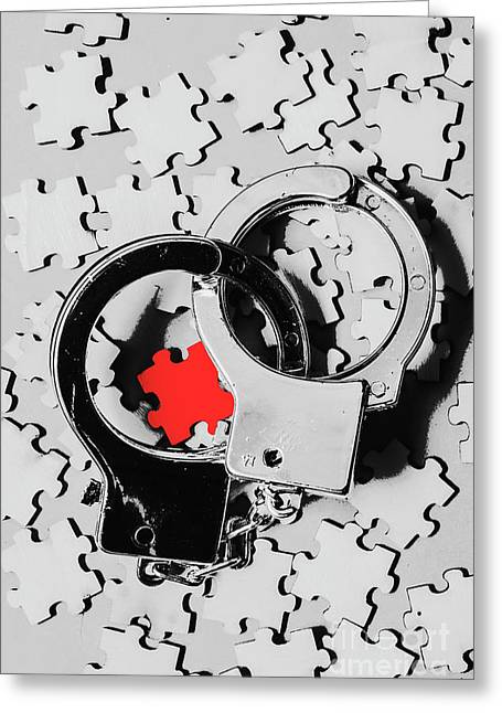 The Missing Puzzle Piece Greeting Card