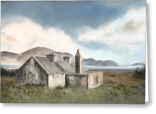 The Mist Of Moorland Greeting Card