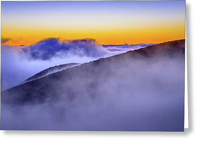 The Mists Of Cloudfall Greeting Card