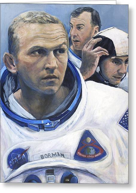 The Moment Before- Apollo 8 Greeting Card