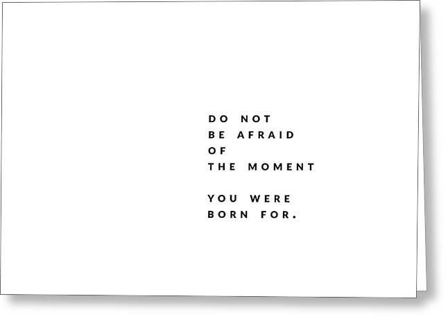 The Moment. Greeting Card