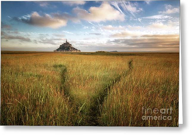 The Mont Saint-michel's Bay Greeting Card