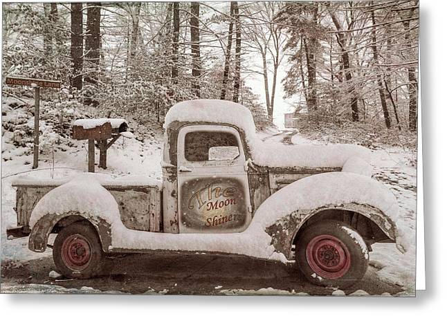 The Moonshiners Antique Tones Vintage Greeting Card