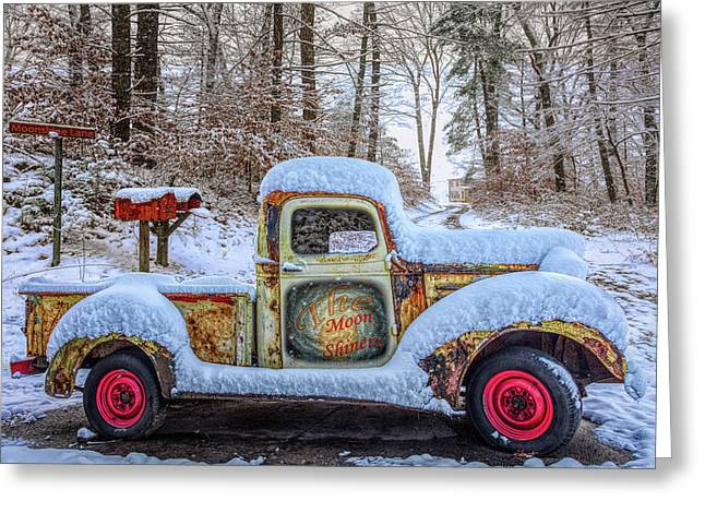 The Moonshiners In Full Detail Hdr Greeting Card