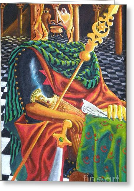 The Moorish General  Othello Greeting Card