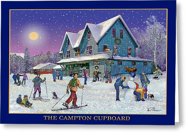 The Morning After At Campton New Hampshire Greeting Card