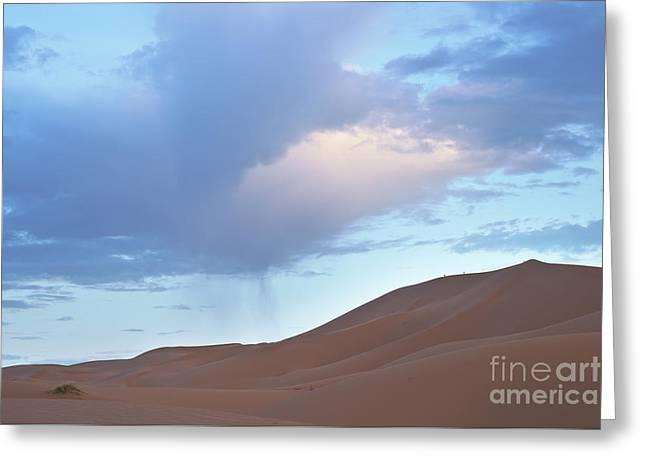 Greeting Card featuring the photograph The Moroccan Dunes by Yuri Santin