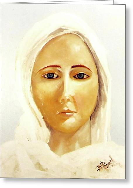 The Mother Mary Greeting Card