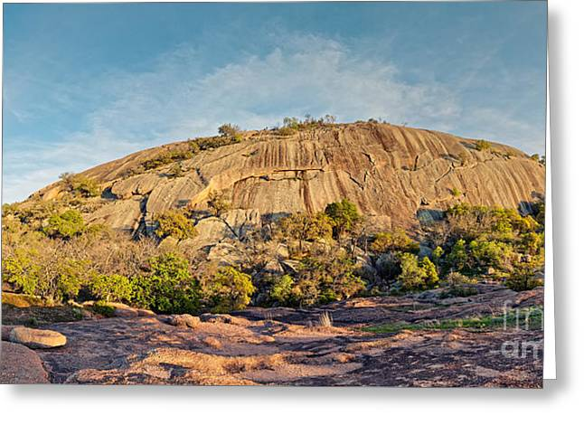 The Mothership Has Landed - Enchanted Rock State Natural Area - Texas Hill Country Greeting Card by Silvio Ligutti