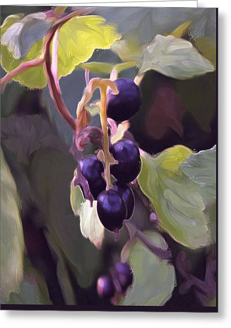 The Motives Of Provence Greeting Card by Margarita Buslaeva