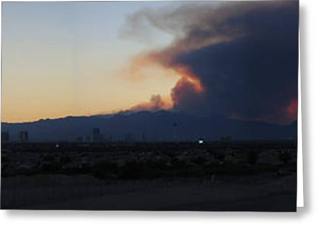 The Mount Charleston Fire Greeting Card