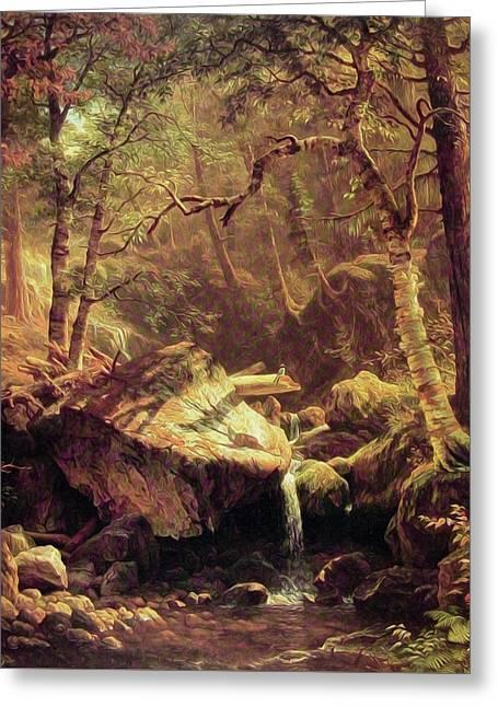 The Mountain Brook Greeting Card