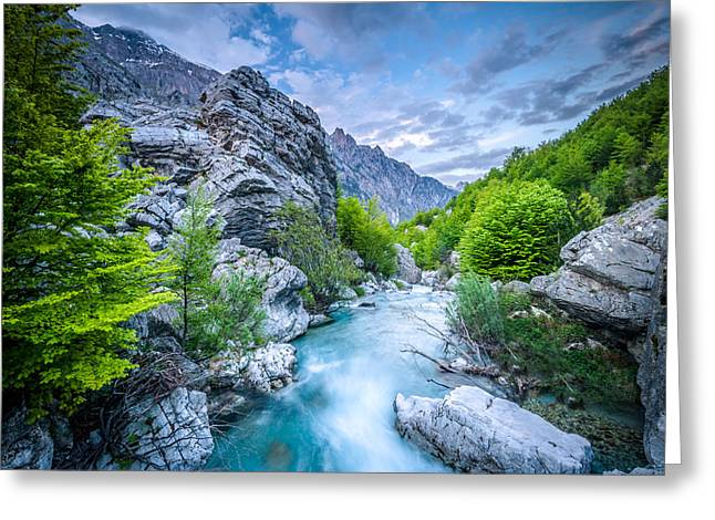 The Mountain Spring Greeting Card