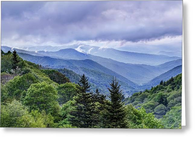 The Mountains Of Great Smoky Mountains National Park Greeting Card