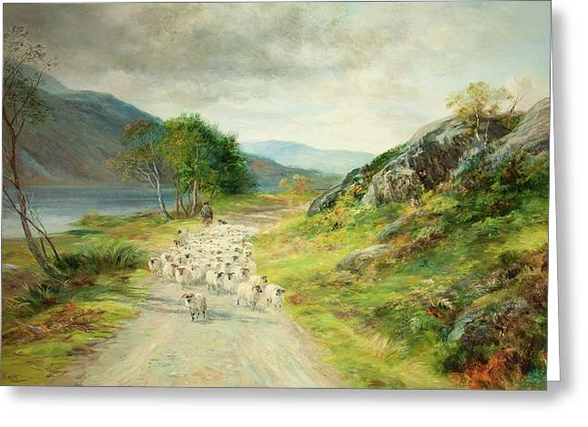 The Mountains Of Moidart Greeting Card