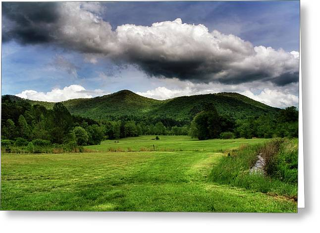 The Mountains Of Western North Carolina Greeting Card by Greg Mimbs