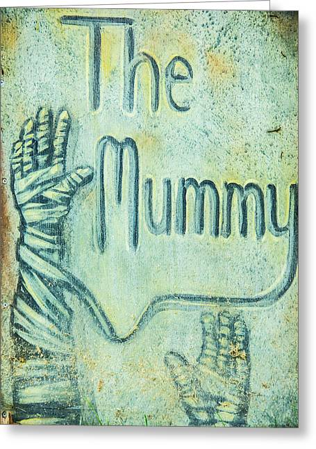 The Mummy Greeting Card by Pamela Williams