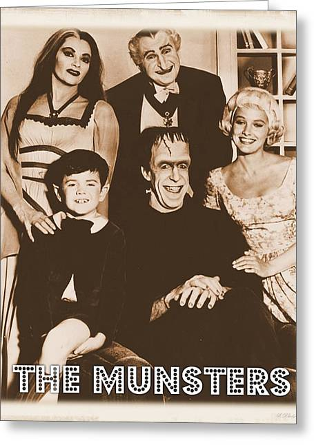 The Munsters Greeting Card