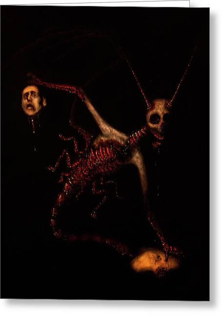 The Murder Bug - Artwork Greeting Card