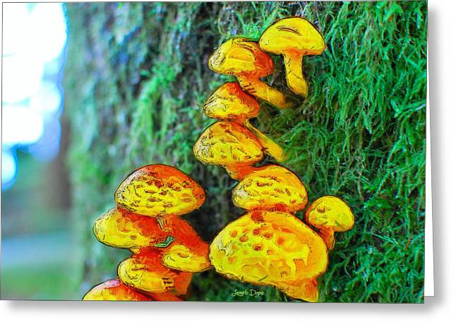 The Mushroom 12 - Da Greeting Card