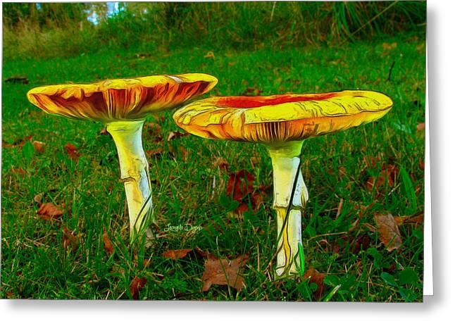 The Mushroom 8 - Ph Greeting Card by Leonardo Digenio