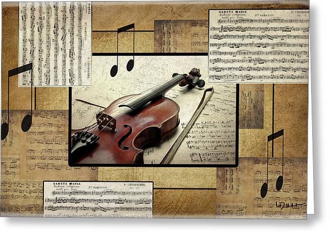 The Music Lover Greeting Card