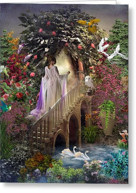 The Mystery Garden Greeting Card