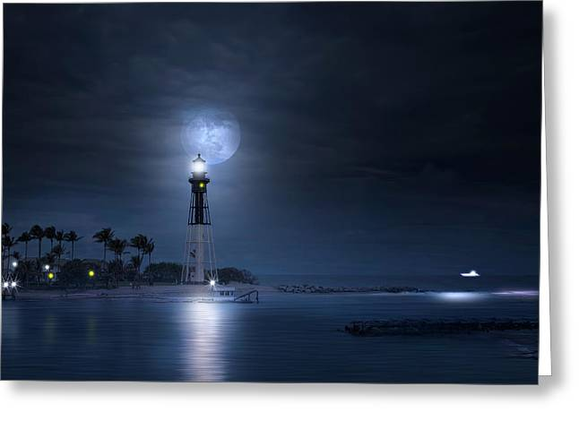 The Mystery Of Lighthouse Cove Greeting Card