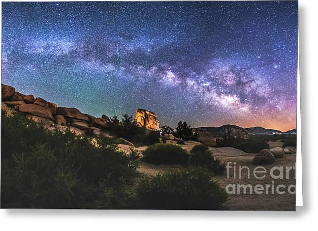 The Mystic Valley Greeting Card by Robert Loe