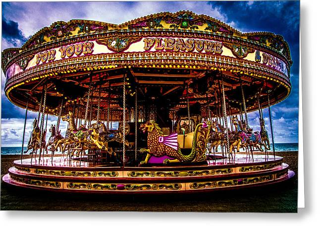 Greeting Card featuring the photograph The Mystical Dragon Chariot by Chris Lord