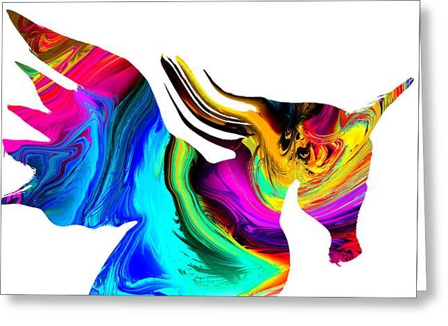 The Mythological Unicorn Greeting Card