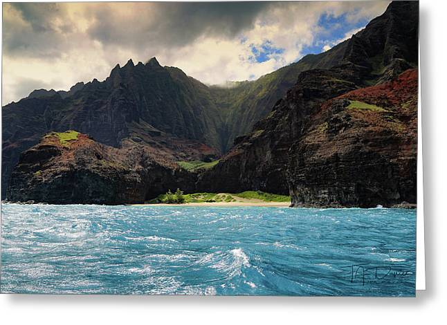 The Napali Coast Greeting Card