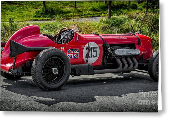 The Napier Bentley Greeting Card by Adrian Evans