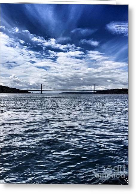 The Narrows Bridge  1 Greeting Card