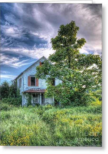The Nathaniel White Farm House Greeting Card