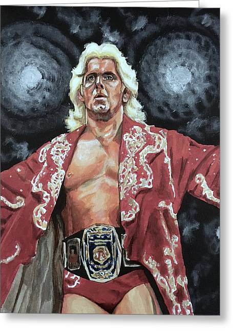 The Nature Boy Ric Flair Greeting Card