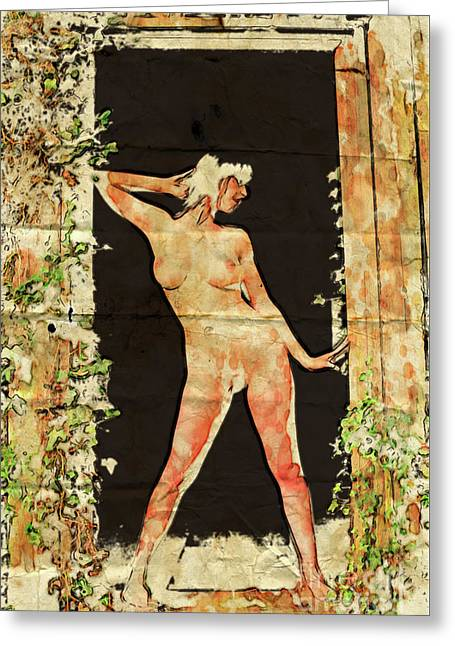 The Naturist By Mary Bassett Greeting Card