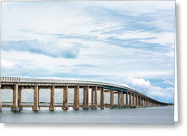 The Navarre Bridge Greeting Card by Shelby Young