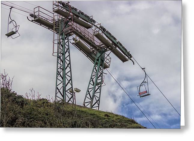 The Needles Chair Lift Greeting Card