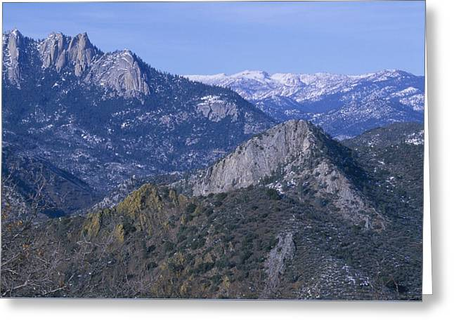 The Needles - Rincon Trail Greeting Card