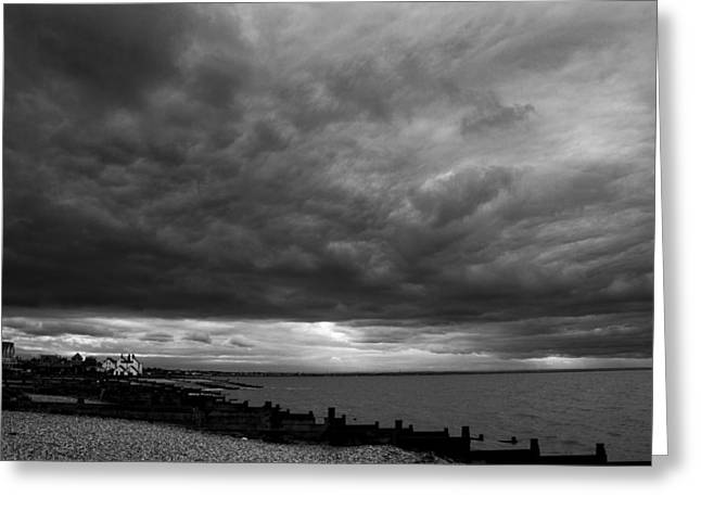 The Neptune Whitstable Greeting Card by David French