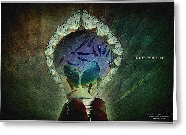 The New Life Greeting Card by Edwin Loyola