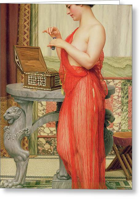 The New Perfume, 1914 Greeting Card