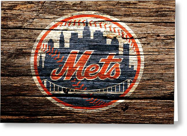 The New York Mets 6d Greeting Card by Brian Reaves