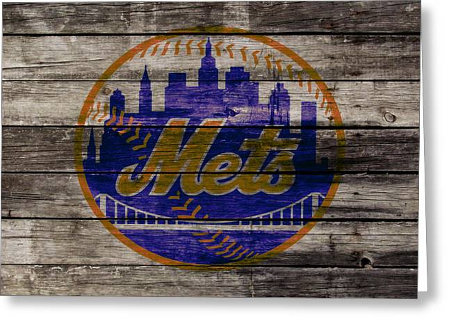 The New York Mets W1 Greeting Card