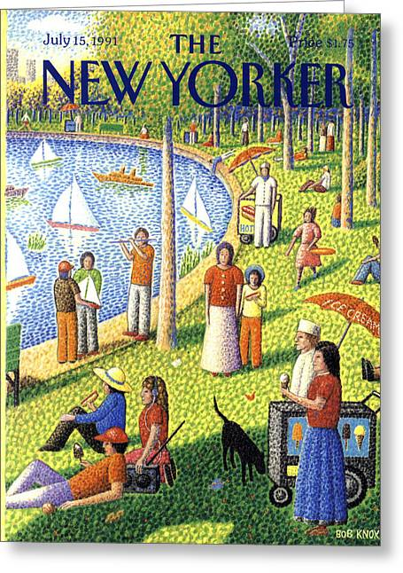 The New Yorker July 15th, 1991 Greeting Card